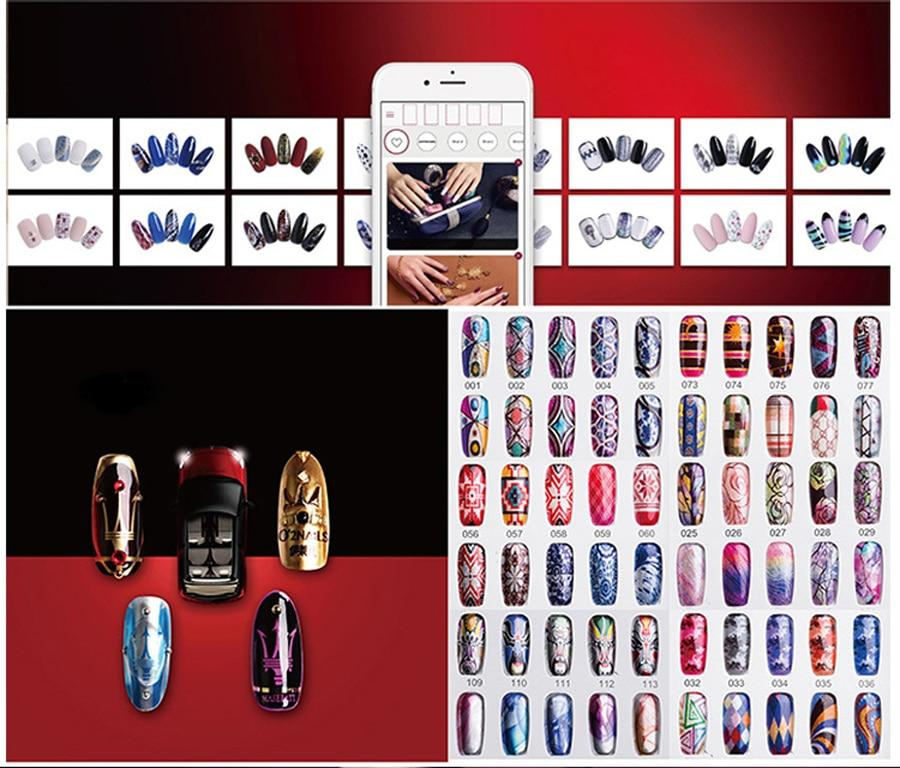 Imprimante pour ongles mobile