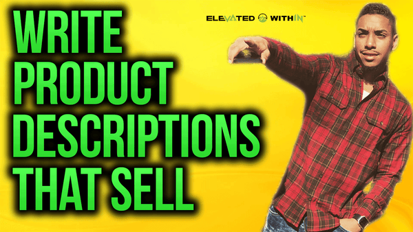 Write Shopify Product Descriptions That Sell [2018]