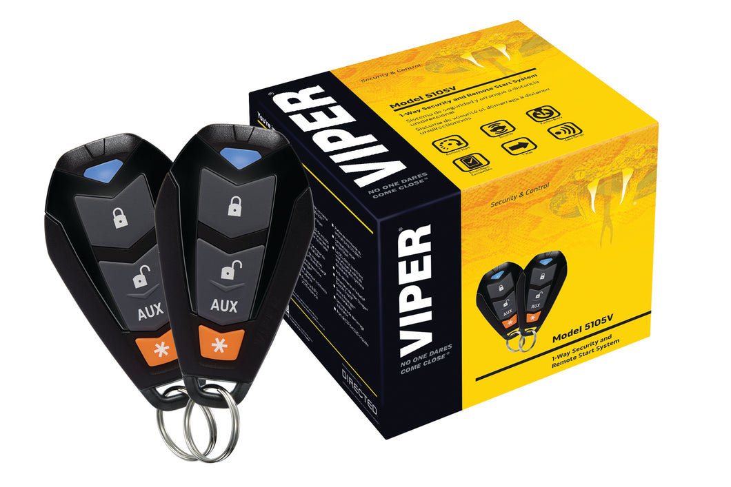 Viper Car  Alarm and Keyless Entry Package