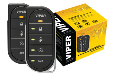 Viper LED 2 Way Alarm, Keyless Entry and Remote Start Package