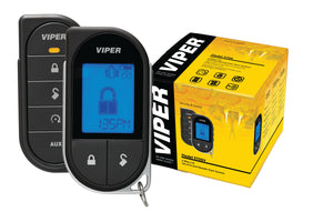 Viper LCD 2 Way Alarm, Keyless Entry and Remote Start Package