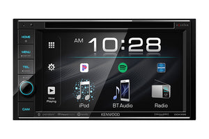 "Kenwood Excelon DDX396 6.2"" DVD Receiver with Bluetooth"