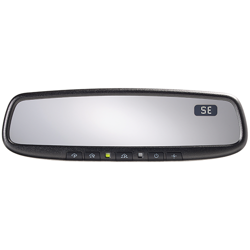 Super Deluxe Auto Dimming Mirror with Homelink and Compass & Installation Package