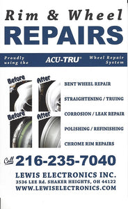 Rim and Wheel Repair