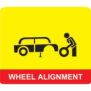 Alignment for SUV or Pick Ups
