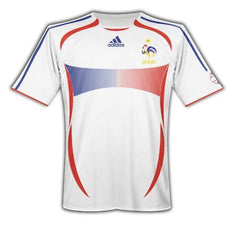 80210a9a8 06 France Home Retro Jersey - FootyKitz