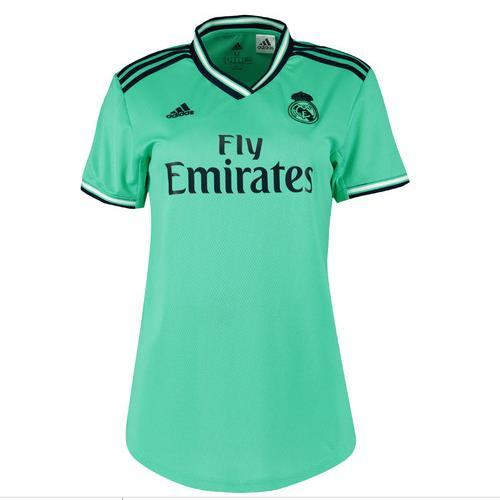 the latest c8095 820f4 Women's Customized 19/20 Real Madrid 3rd Green Jersey