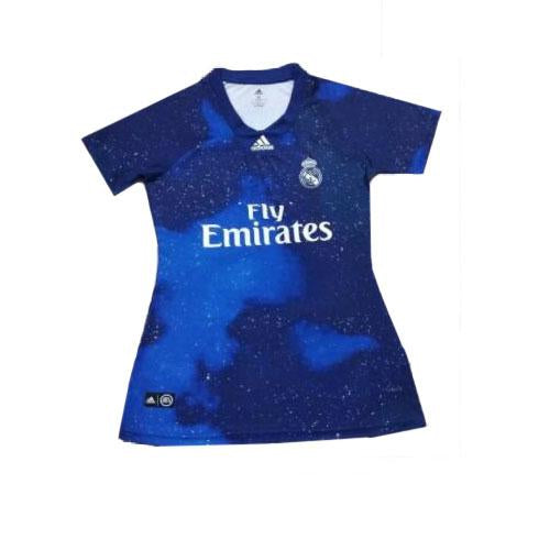 new product d0f30 ba00d Women's Customized Real Madrid EA Sports Jersey
