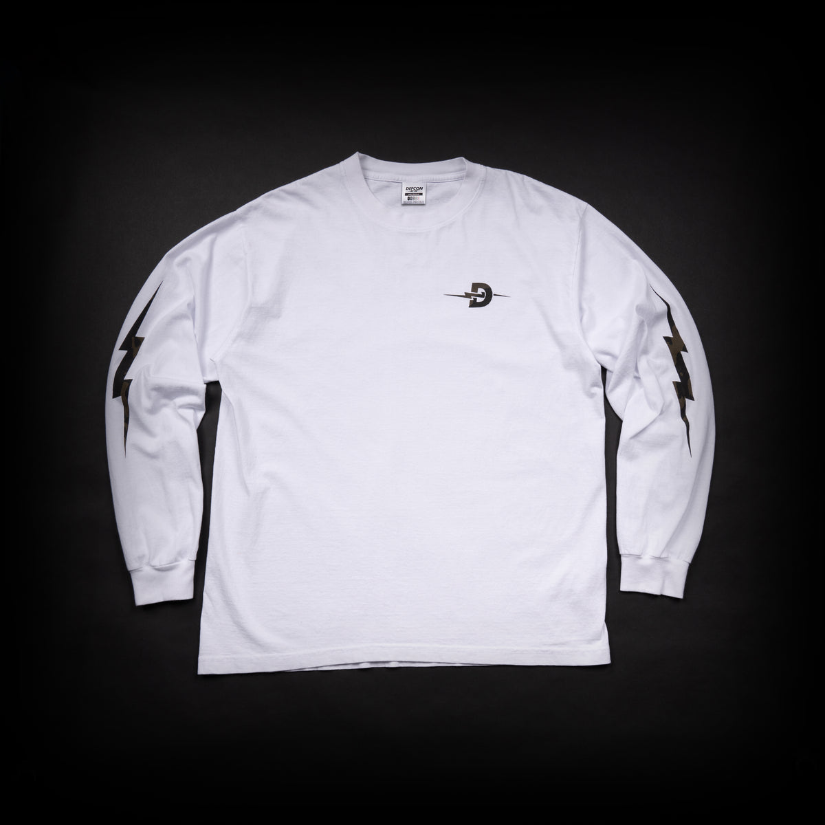 Multicam Black Long Sleeve - White