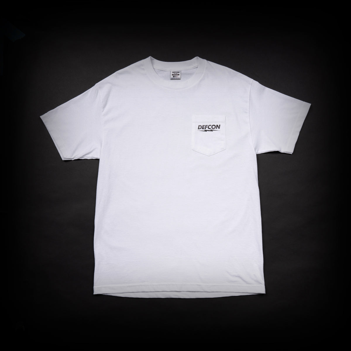 Multicam Black Pocket Tee - White