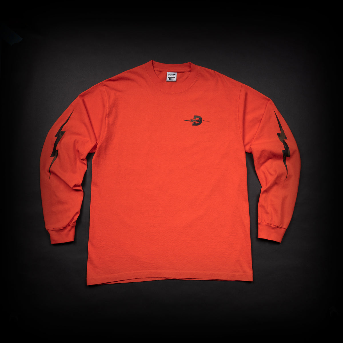 Multicam Black Long Sleeve - Orange