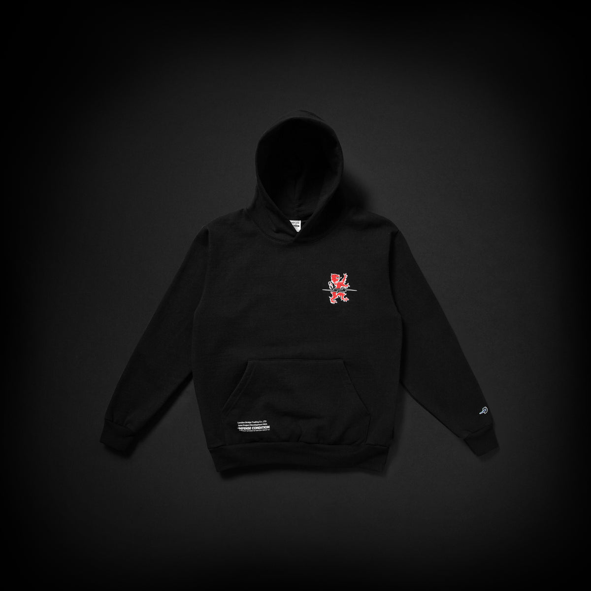 DEFCON LBT HOODED SWEATSHIRT - BLACK