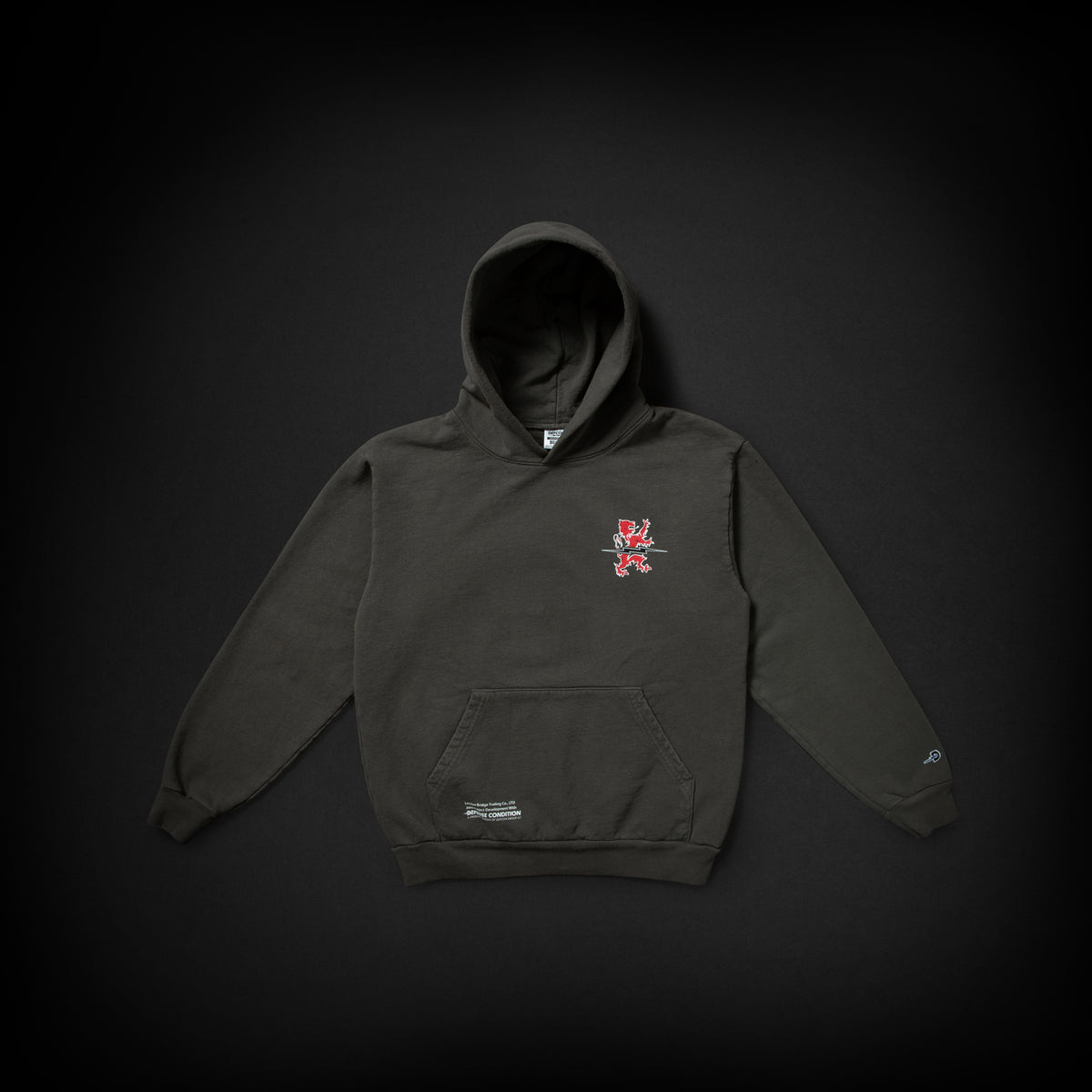 DEFCON LBT HOODED SWEATSHIRT - MAS GREY