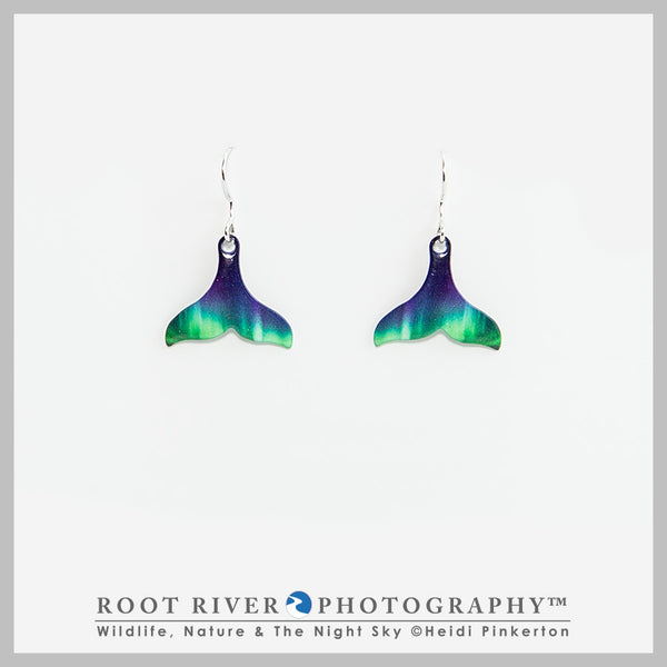 Candelabra Whale Tail Earrings