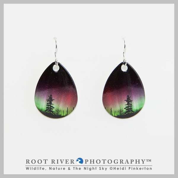 Forest of Lights Teardrop Earrings
