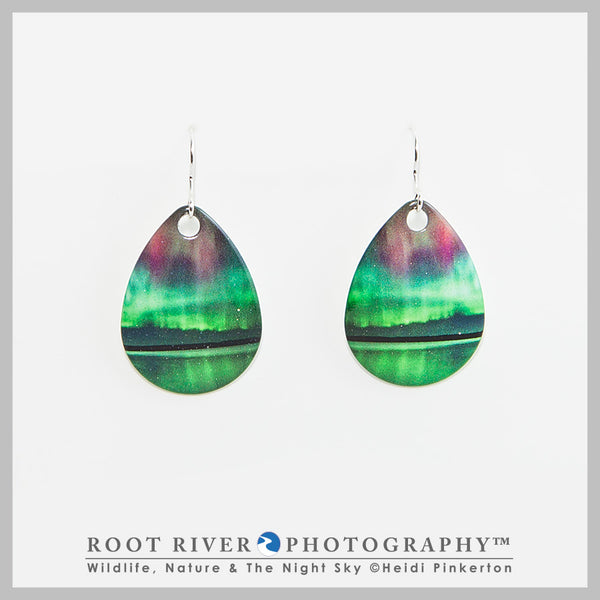 Border Patrol Teardrop Earrings