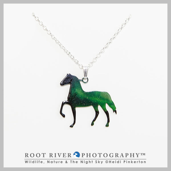 Candelabra Horse Necklace