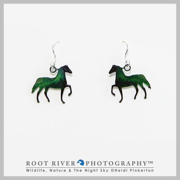 Candelabra Horse Earrings