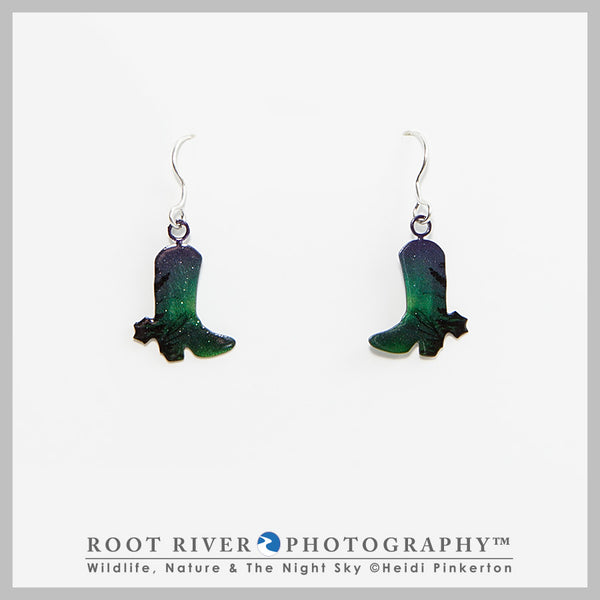 Candelabra Boot Earrings