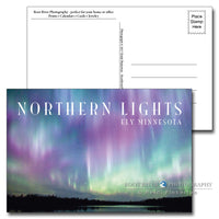 Ely, Minnesota Candyland Northern Lights Postcard