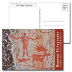 Boundary Waters Hegman Pictographs Postcard