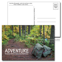 Boundary Waters Portage Packs Postcard