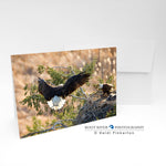 Birds - Bringing In Breakfast Greeting Card