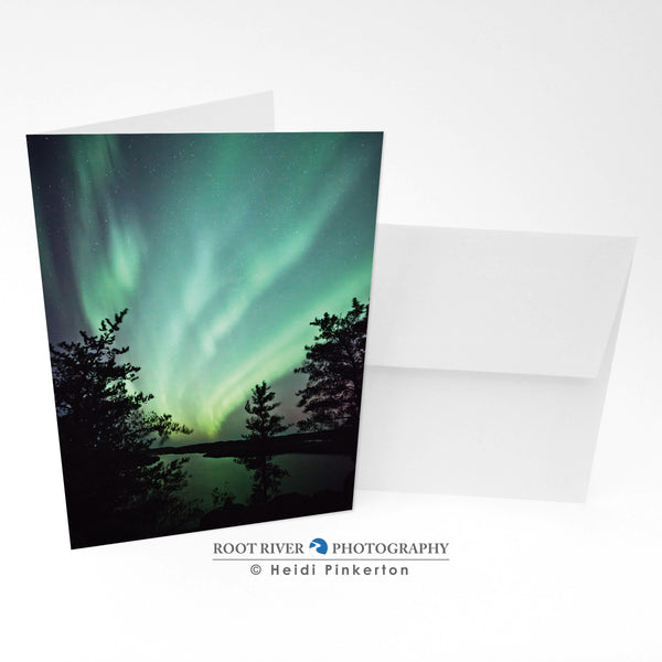 Night Sky - Flurry Of Wonder Greeting Card