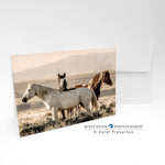 Horses - Keeping Watch Greeting Card