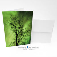 Night Sky - Limelight Greeting Card