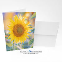 Sunflowers - Palette of Color Greeting Card