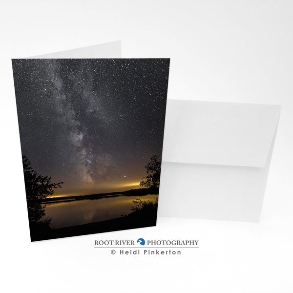 Night Sky - Summer Nights Greeting Card