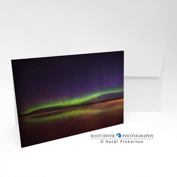 Night Sky - The Flip Side Greeting Card