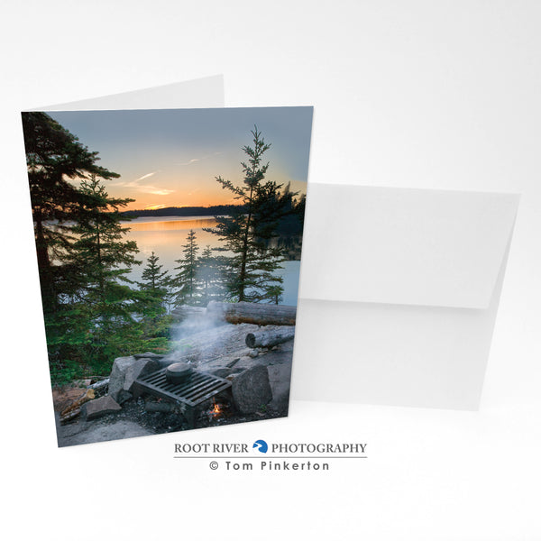 Scenic - Tuscarora Sunset Greeting Card