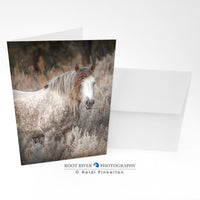 Horses - Veiled In Nature Greeting Card