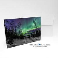 Night Sky - Winter Spectacle Greeting Card