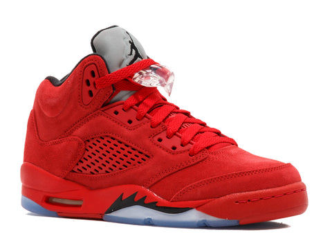 "AIR JORDAN 5 RETRO BG (GS) ""RED SUEDE"" (Cat)"