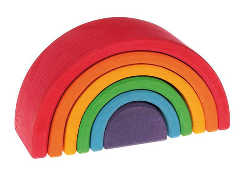 6 Piece Rainbow Blocks - Medium