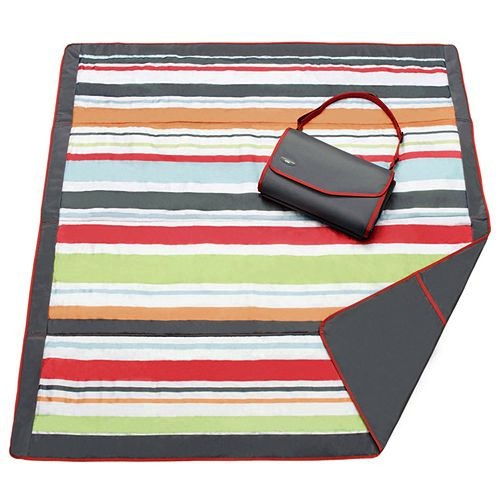 J.J. Cole Outdoor Mat - Gray/Red