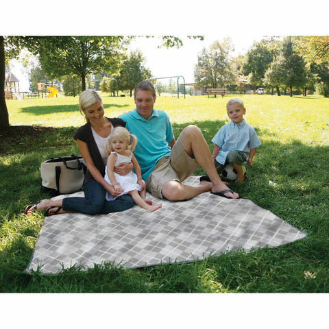Outdoor Mat 5x5 - Grey