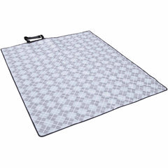 Fleurville Outdoor Mat 5x5 - Grey