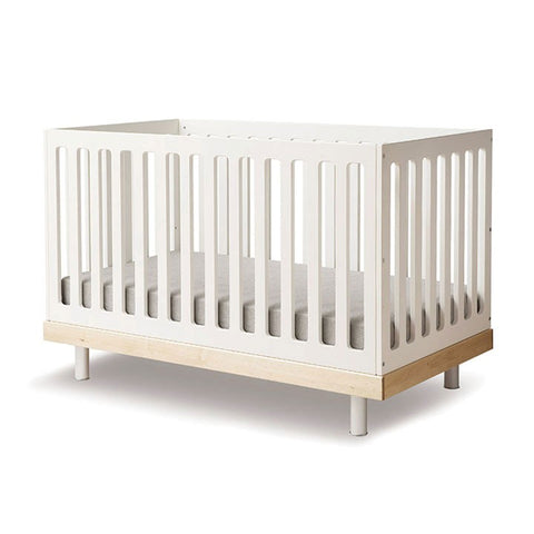 Oeuf's Classic Crib - White / Birch (Special Order Item)