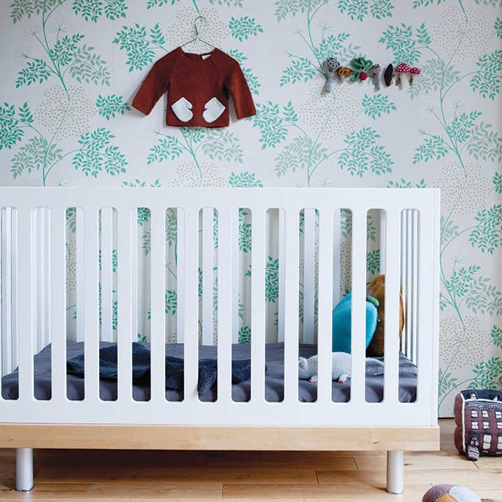 Oeuf Classic Crib - White / Birch (Special Order Item)