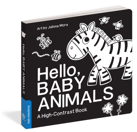 High Contrast Hello Book
