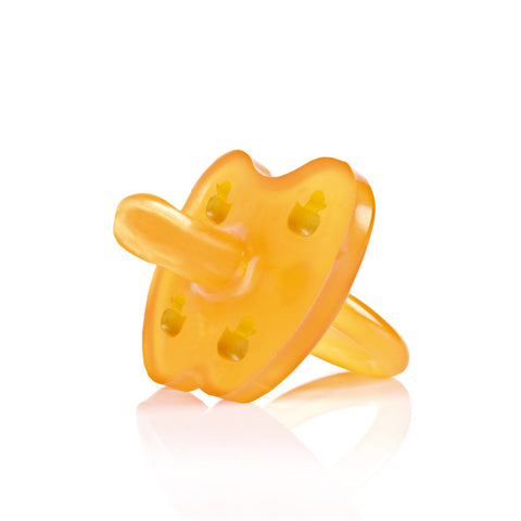 Hevea Duck Pacifier - Symmetrical Teat