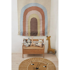 Follow The Rainbow Wall Rug