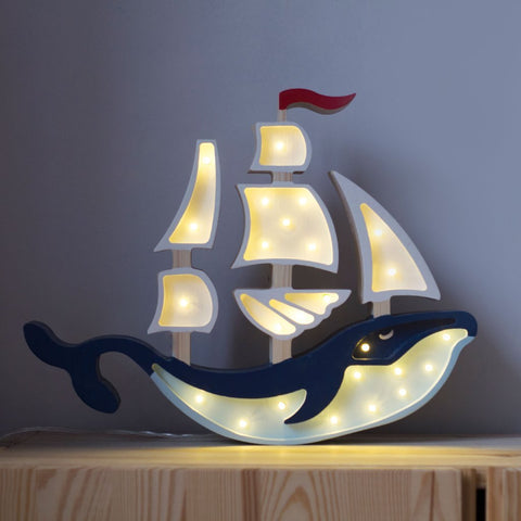 Little Lights Whale Ship