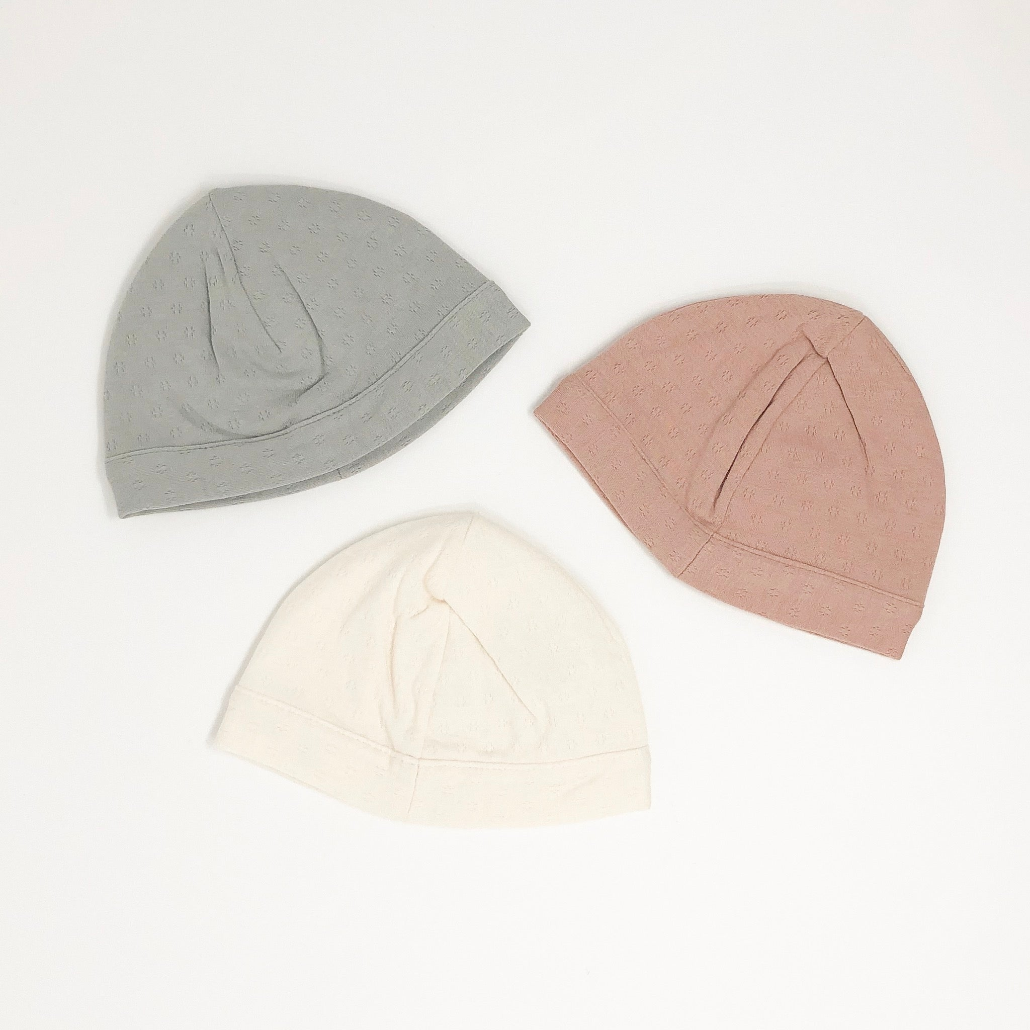 Pointelle Cap Hat