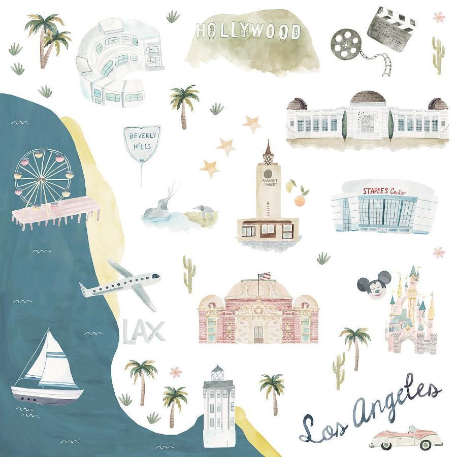 Loulou Lollipop Muslin Swaddle - Los Angeles
