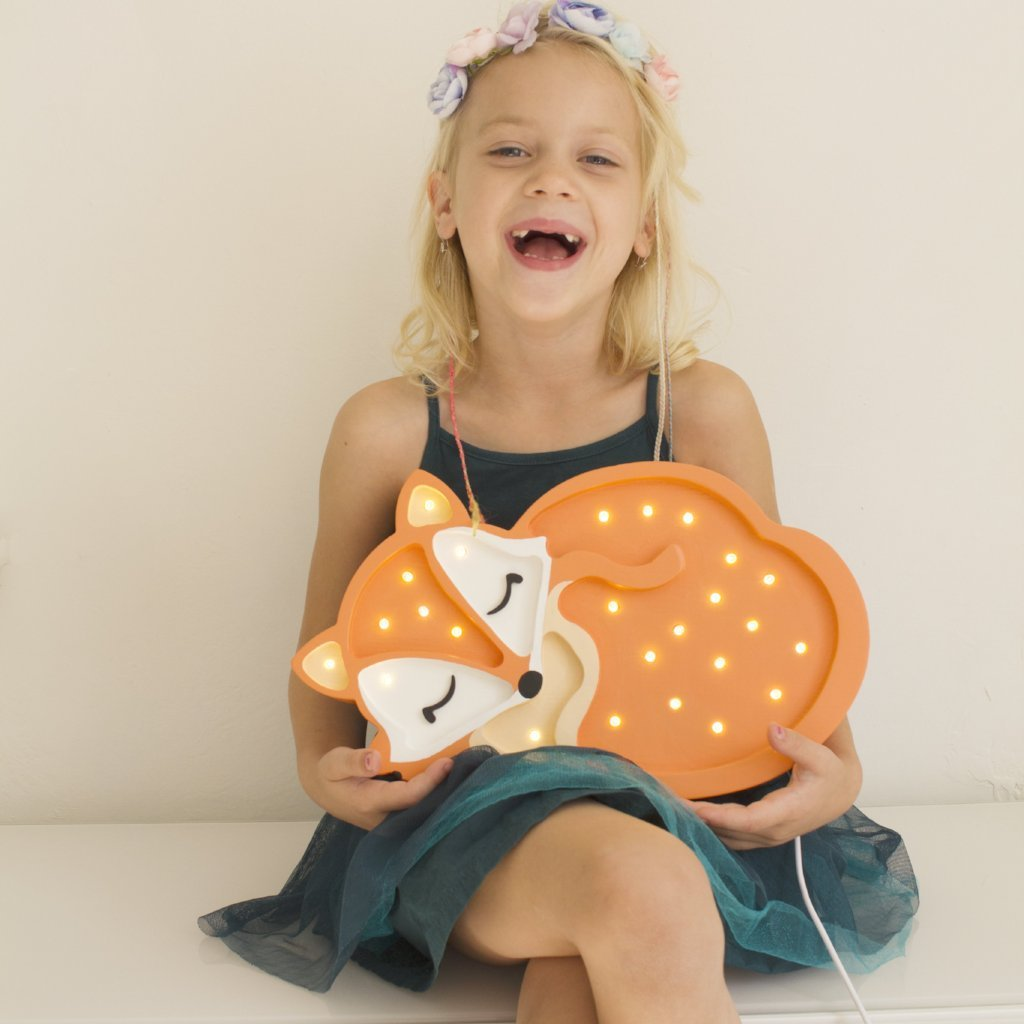 Little Lights Baby Fox Lamp - Orange (Special Order Item)